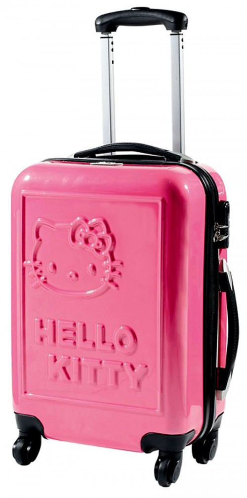 maleta Hello Kitty 85100 rosa mediana grande