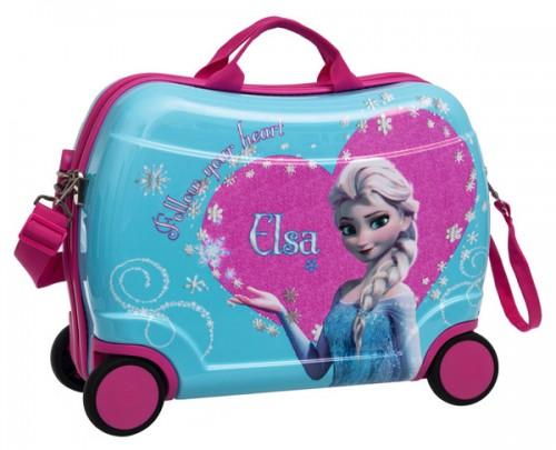 maleta infantil 4 ruedas frozen 2219951