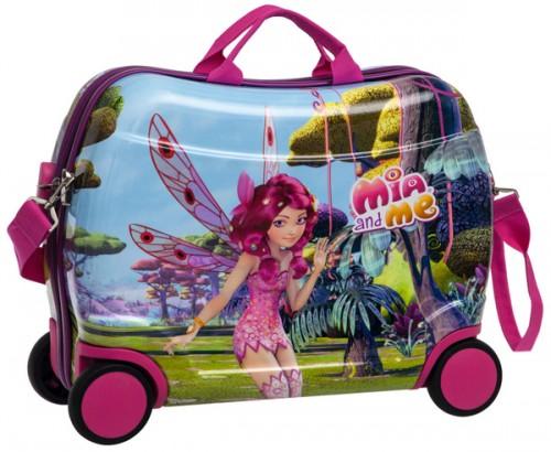 maleta infantil  4 ruedas mia and me 2169951