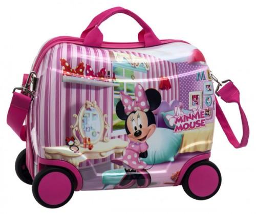 maleta infantil 4 ruedas minnie 2021051
