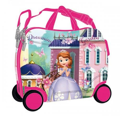 maleta infantil 4 ruedas princesa sofía 12125