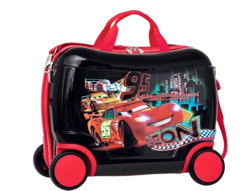 maleta infantil  cars con asa y 4 ruedas 1691001