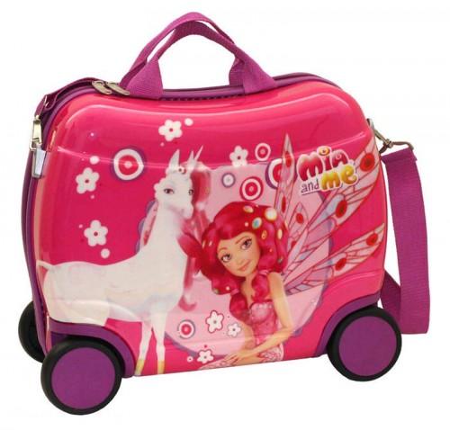 maleta infantil  mia and me 4 ruedas 98210