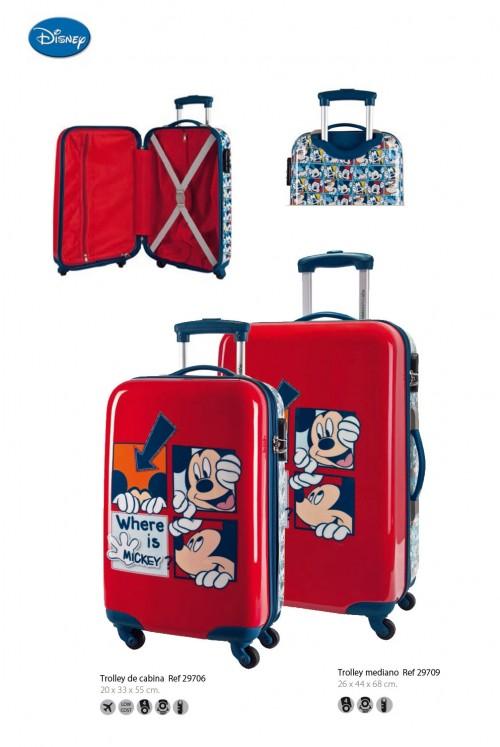 maleta infantil mickey 29706   29709