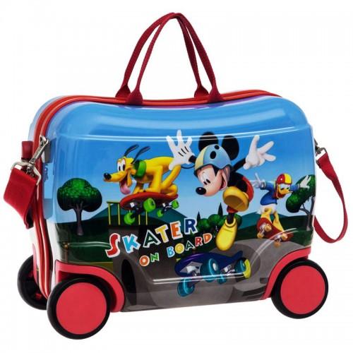 maleta infantil mickey 4 ruedas 4011051