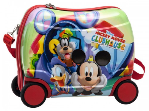 maleta infantil mickey & friends  2011051 ABS 4 RUEDAS