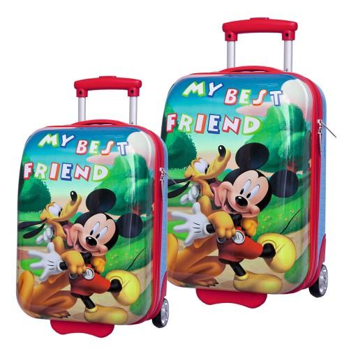 maleta mickey 16205  maleta mickey 16206