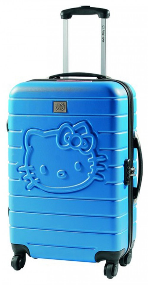 maletas hello kitty 85260 azul mediana grande