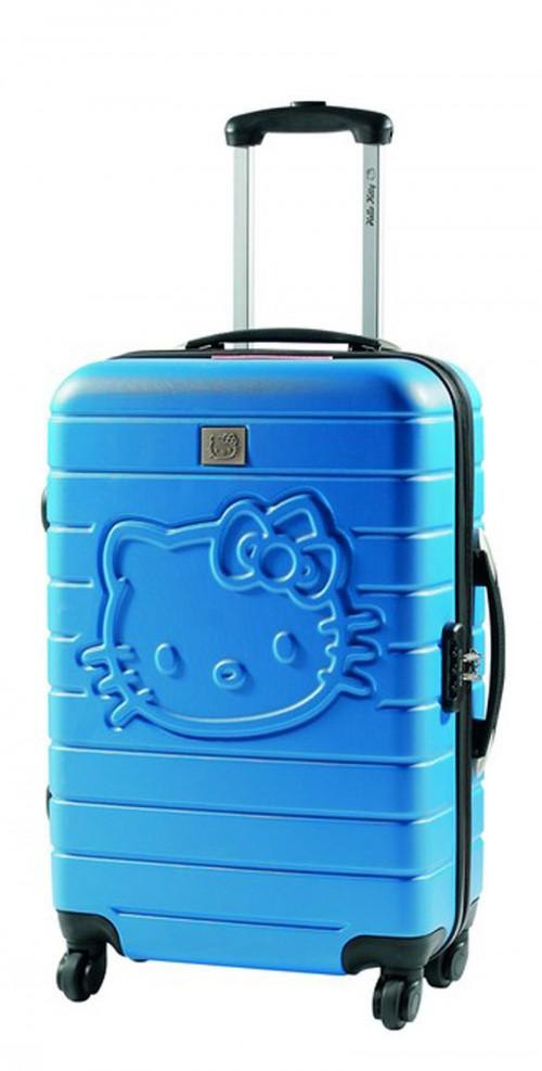 maletas hello kitty 85260 azul pequeña