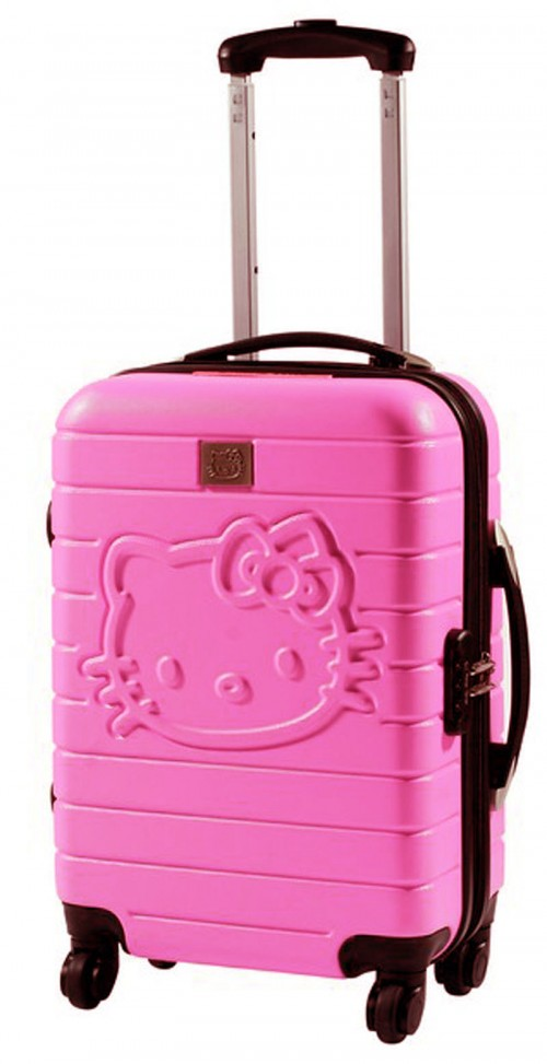 maletas hello kitty 85260 rosa mediana grande