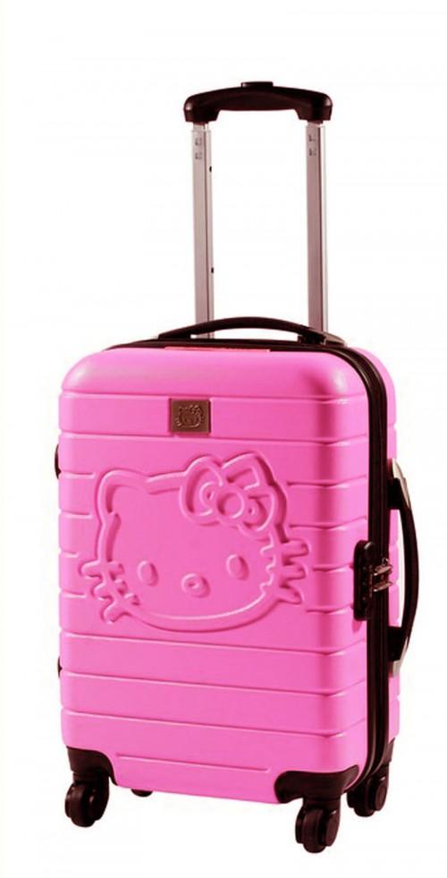maletas hello kitty 85260 rosa pequeña