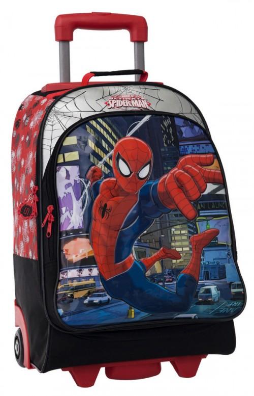 mochila 2 ruedas spiderman 2132951