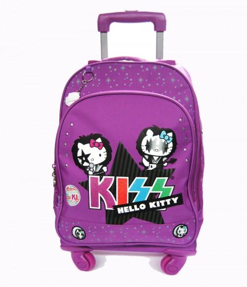 mochila 4 ruedas hello kitty 13628