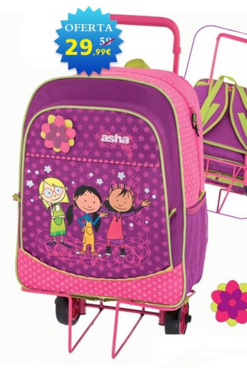 mochila con carro asha 610001