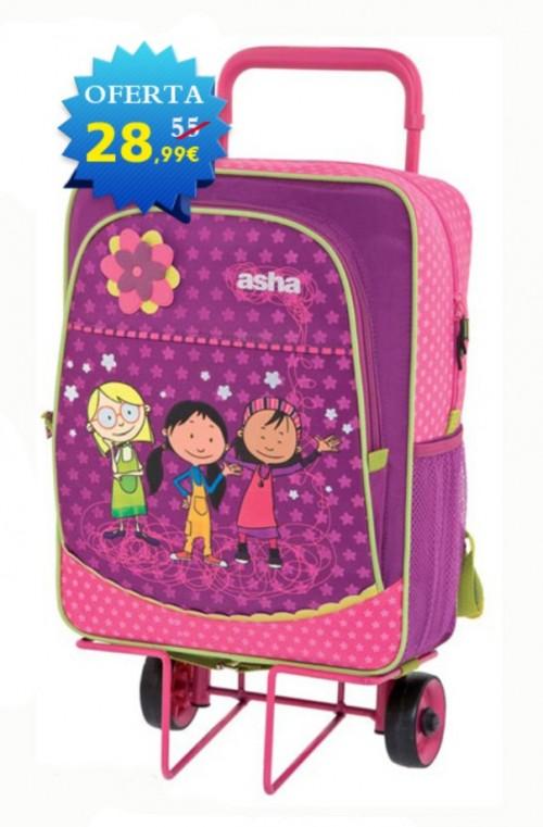 mochila con carro asha 610018