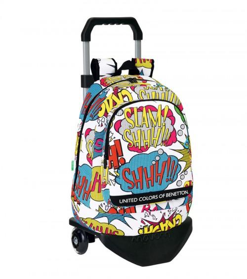 mochila con carro benetton 611450572C