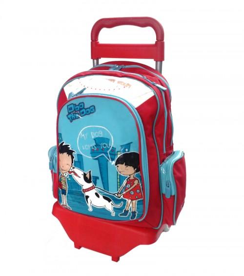 mochila con carro gabol 20040099c