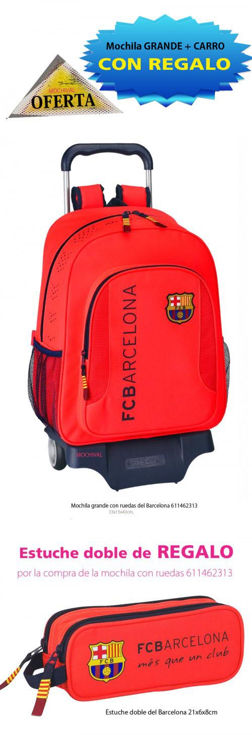 mochila  del barcelona 611462313