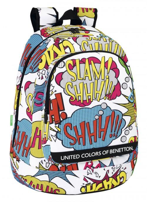 mochila escolar benetton 611450572