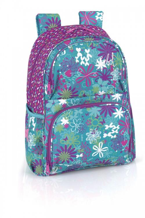 mochila escolar gabol 213686 adaptable a ruedas