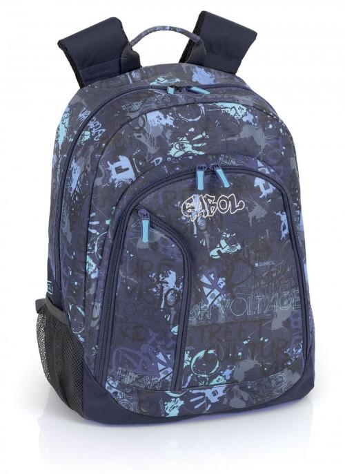 mochila escolar gabol 214364 adaptable a ruedas