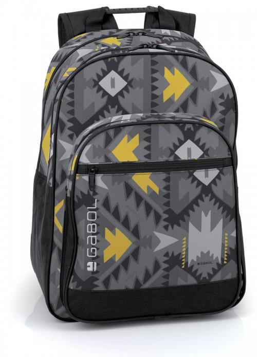 mochila escolar gabol  214495 adaptable a carro