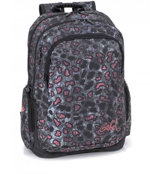 mochila escolar gabol  214534 adaptable a carro