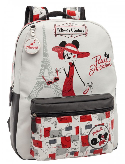 mochila minnie 3012351mi  adaptable a carro