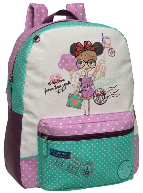 mochila minnie adaptable a carro 17223F