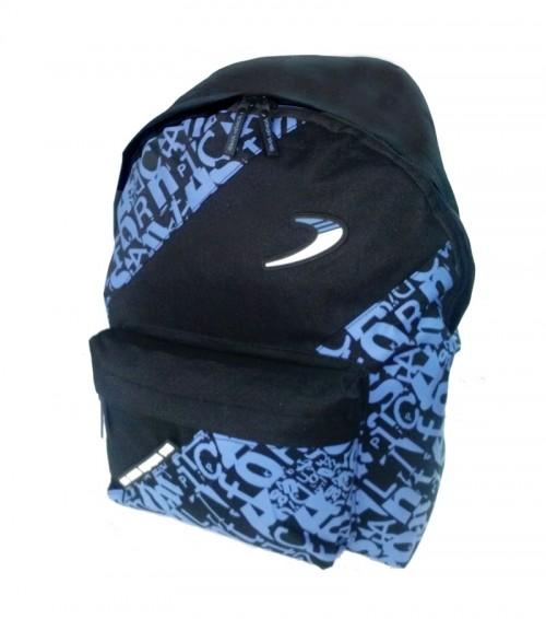 mochila santa monica azul