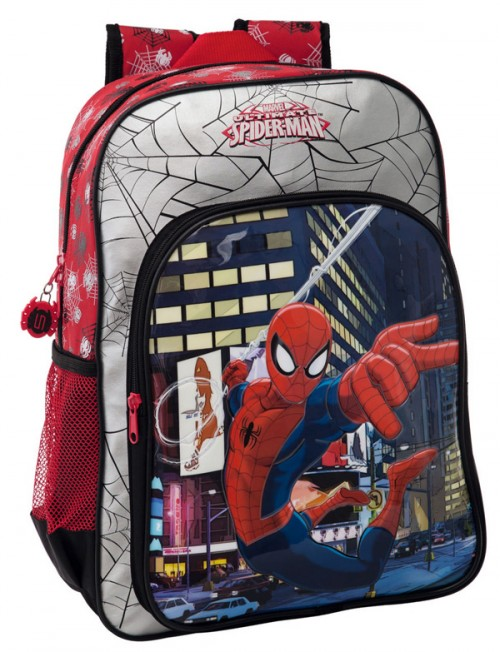 mochila spiderman 2132351 adaptable a cararo