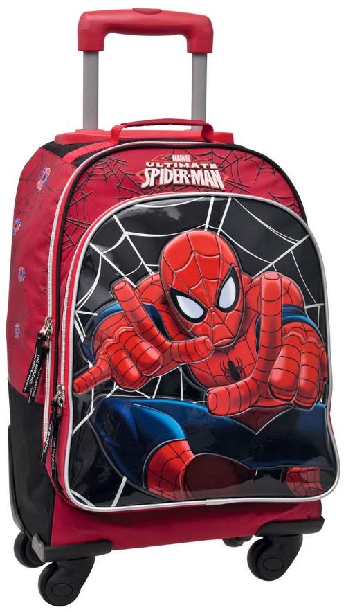 Mochila 4 Ruedas Spiderman 35728011