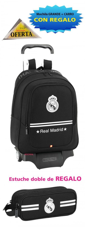 oferta mochila con ruedas real madrid 611524313