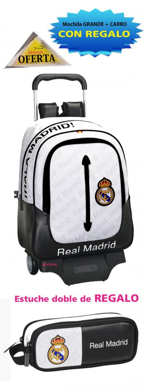 oferta mochila del  real madrid