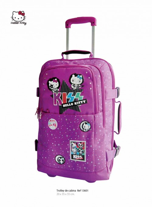 trolley de cabina hello kitty 13601