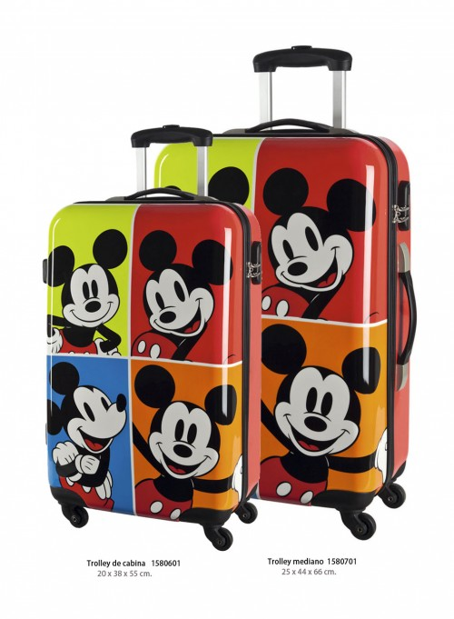 trolley de cabina mickey 1580601 trolley mediano mickey1580701