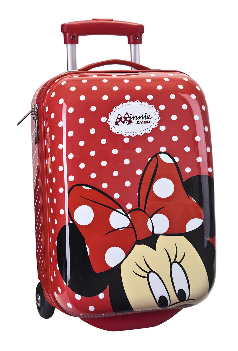 Trolley de cabina minnie 1470501 mochilas y maletas mochival - Maleta viaje carrefour ...