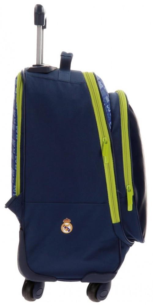 Mochila 4 Ruedas Real Madrid  5632852 lateral