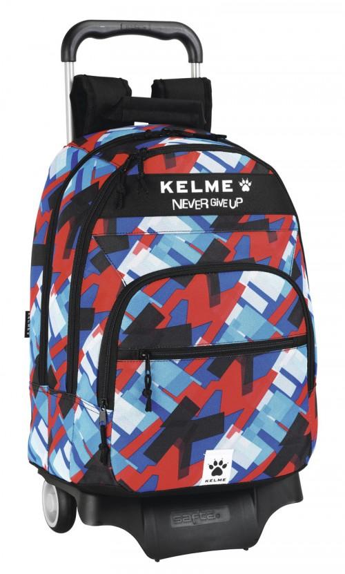 mochila escolar con ruedas  kelme  611303313