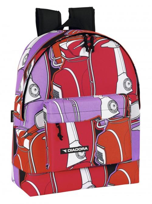 mochila escolar diadora  641317174