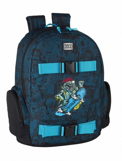 "611849656  DAY PACK ADAPT.CARRO TONY HAWK ""MONSTER"""