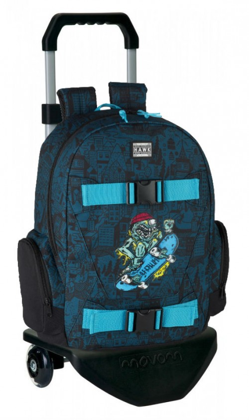 "611849656C mochila con carro TONY HAWK ""MONSTER"""