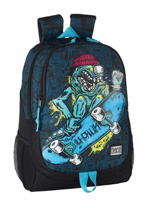 "611849665 DAY PACK ADAPT.CARRO TONY HAWK ""MONSTER"""