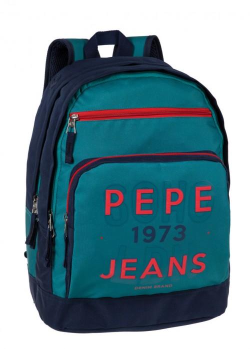 64125A1 Mochila Pepe Jeans Reed Adaptable a carro