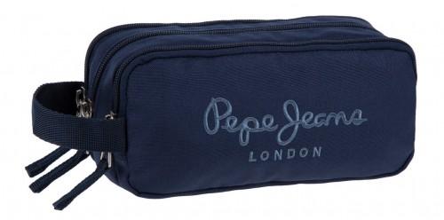 6484251 Portatodo triple Pepe Jeans Navi