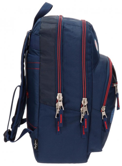 Mochila Adaptable Pepe Jeans  65524A1 lateral