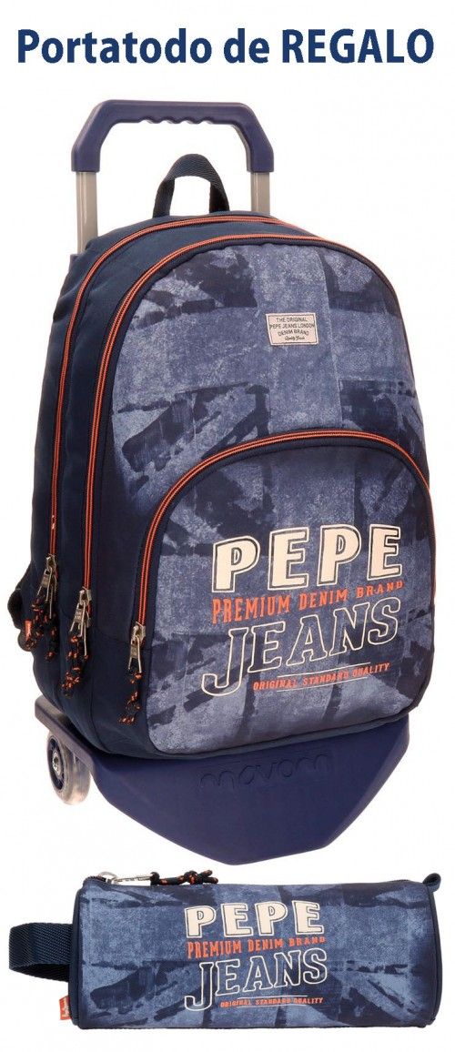 Mochila Carro 2 Compartimentos Pepe Jeans 65624M1