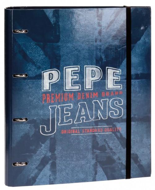 Carpeta 4 Anillas con Recambio Pepe Jeans 6569651