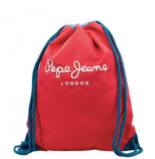 Gym Sac Pepe Jeans Bicolor 6313751 Con Cremallera
