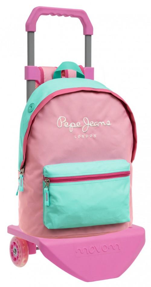 Mochila Carro Pepe Jeans Pink 62523M1